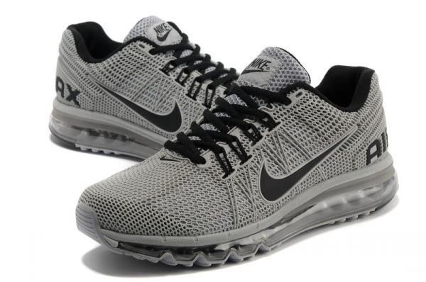 Nike Air Max 2013 Chisel Men's shoes GreyBlack Nike air  Nike air