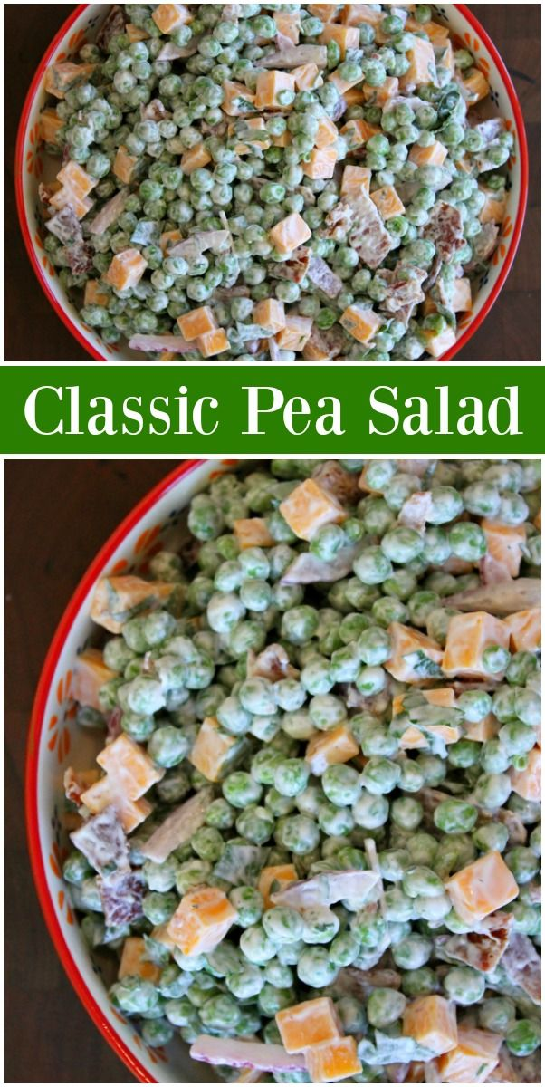 Photo of Pea Salad