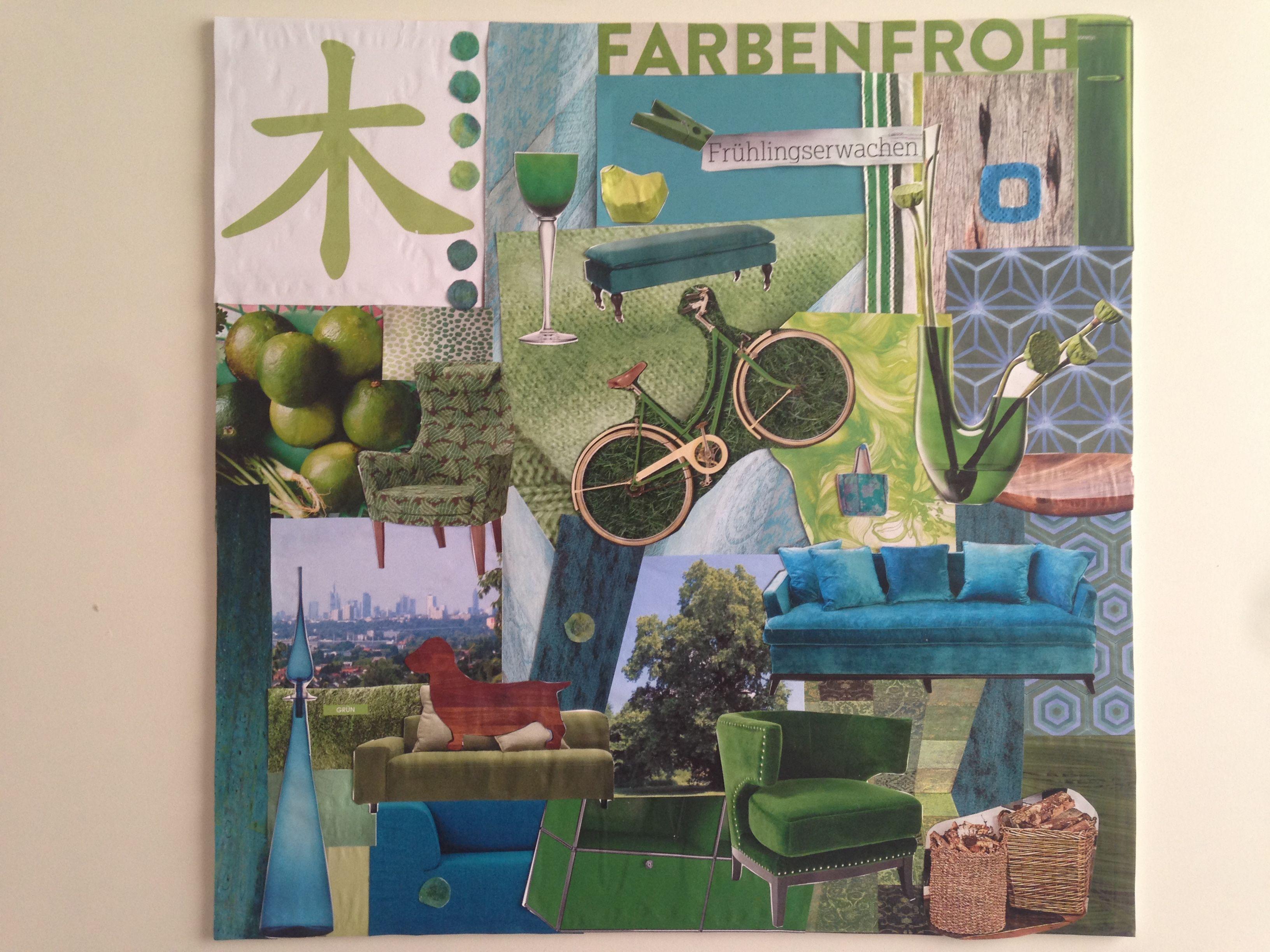 collage feng shui. Das Element Holz Als Collage #fengshui #feng_shui #kunst #element #holz # Feng Shui I