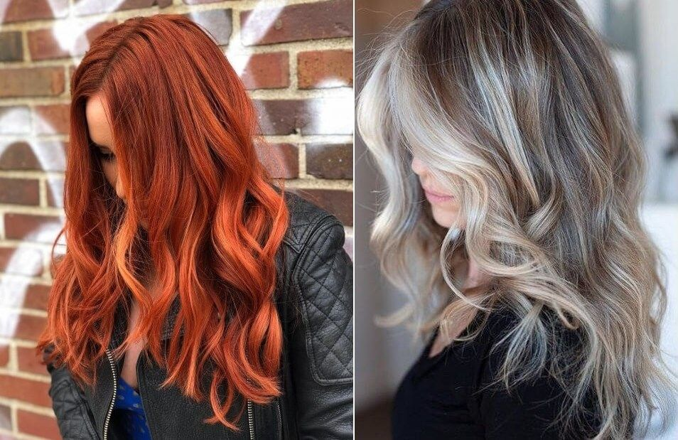 صور صبغات شعر 2020 بألوان عصرية وتسريحات Hair Styles Beauty Long Hair Styles
