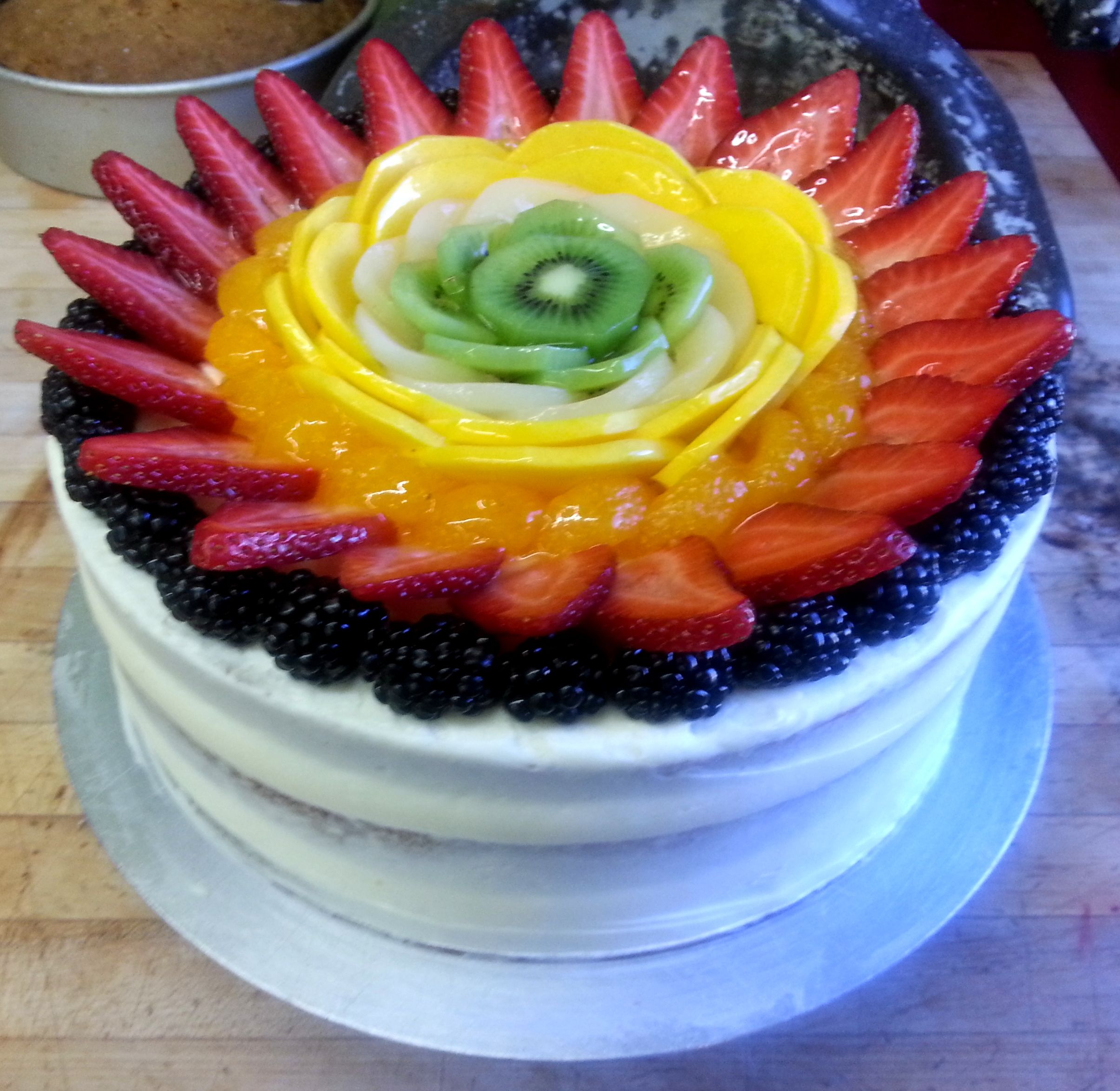 Spring Fling At The Market At Larimer Square Cake: Zucchini Bread With  Fresh Fruit And