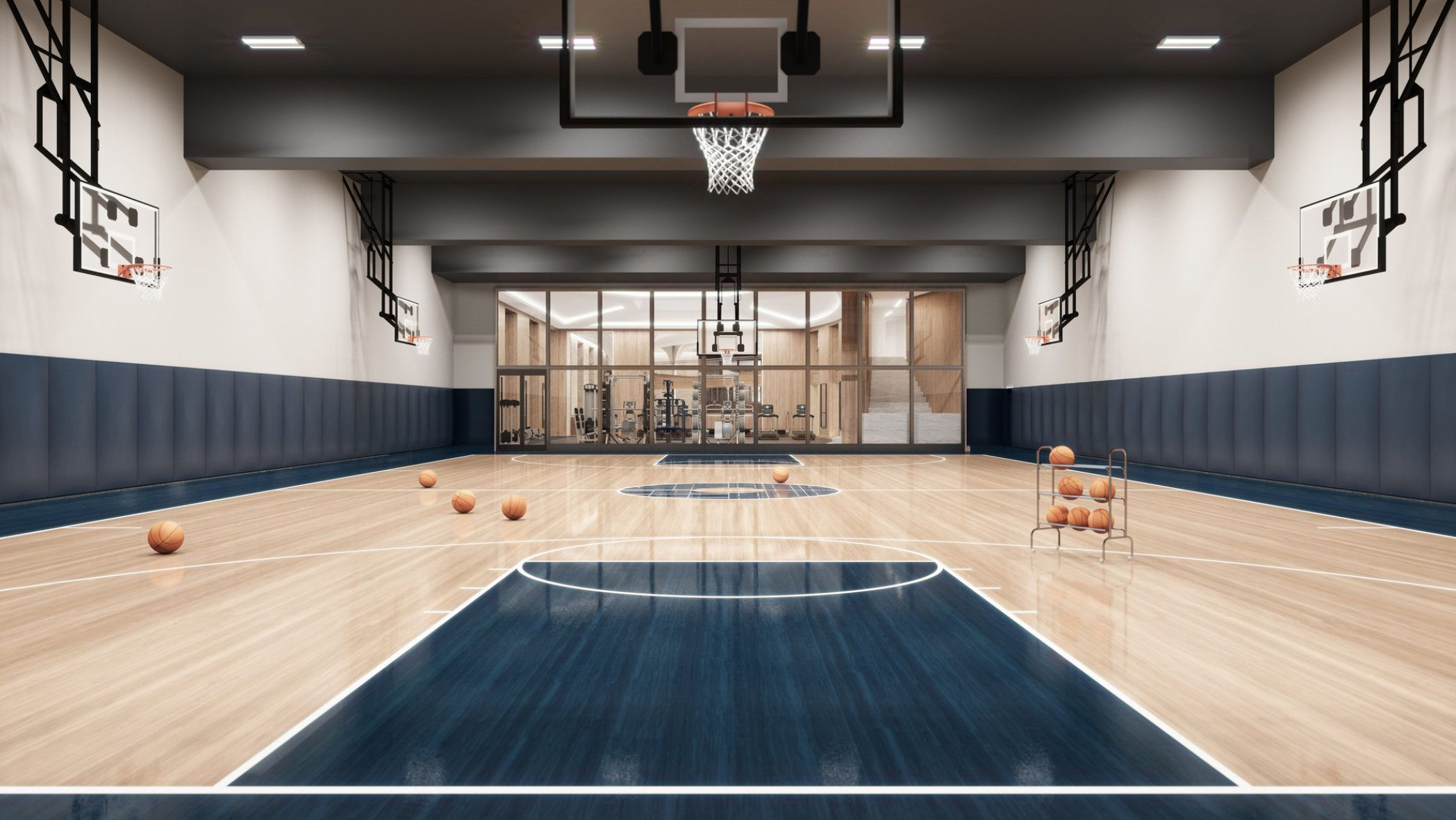 Pin By Duncan On K 康体中心 Home Basketball Court Luxury Rentals Soho Beach House