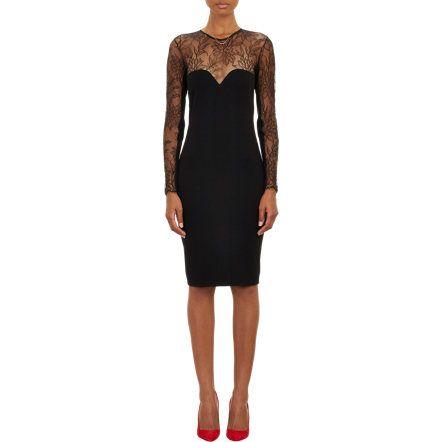 Mason by Michelle Mason Lace Top Body-Conscious Dress at Barneys.com $540.00