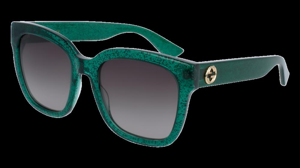 c7832809a8e Gucci - GG0141S-002 Avana Sunglasses   Green Gradient Lenses ...
