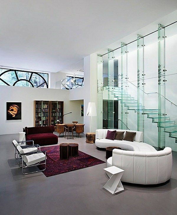 Best Impressive Glass Staircase Designs Staircase Design 400 x 300
