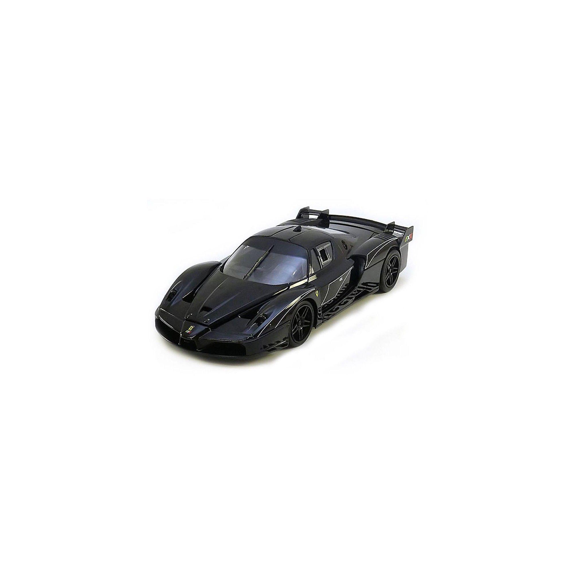 Ferrari FXX Evoluzione Black 1/18 Diecast Model Car by Hotwheels #ferrarifxx
