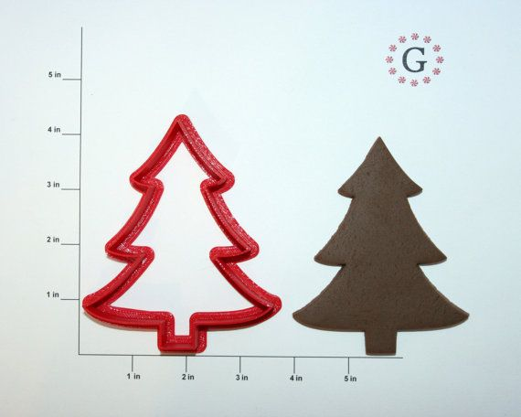 Christmas Tree Cookie Cutter-3 Different Size Options Christmas