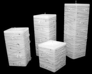 decoració d'espelmes