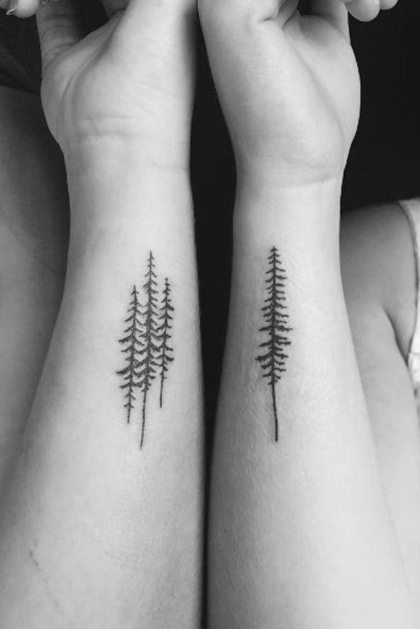 100 id es de tatouages partager avec sa s ur deux soeurs avant bras et tatouages - Tatouage a deux ...