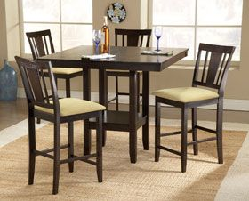 American Furniture Warehouse Virtual Store Arcadia 5 Piece Pub Set Counter Height Dining Table Dining Room Sets Dining Table Setting