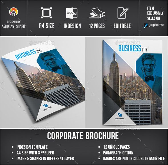 24 Free Professional Brochure Template Psd Designs Brochure