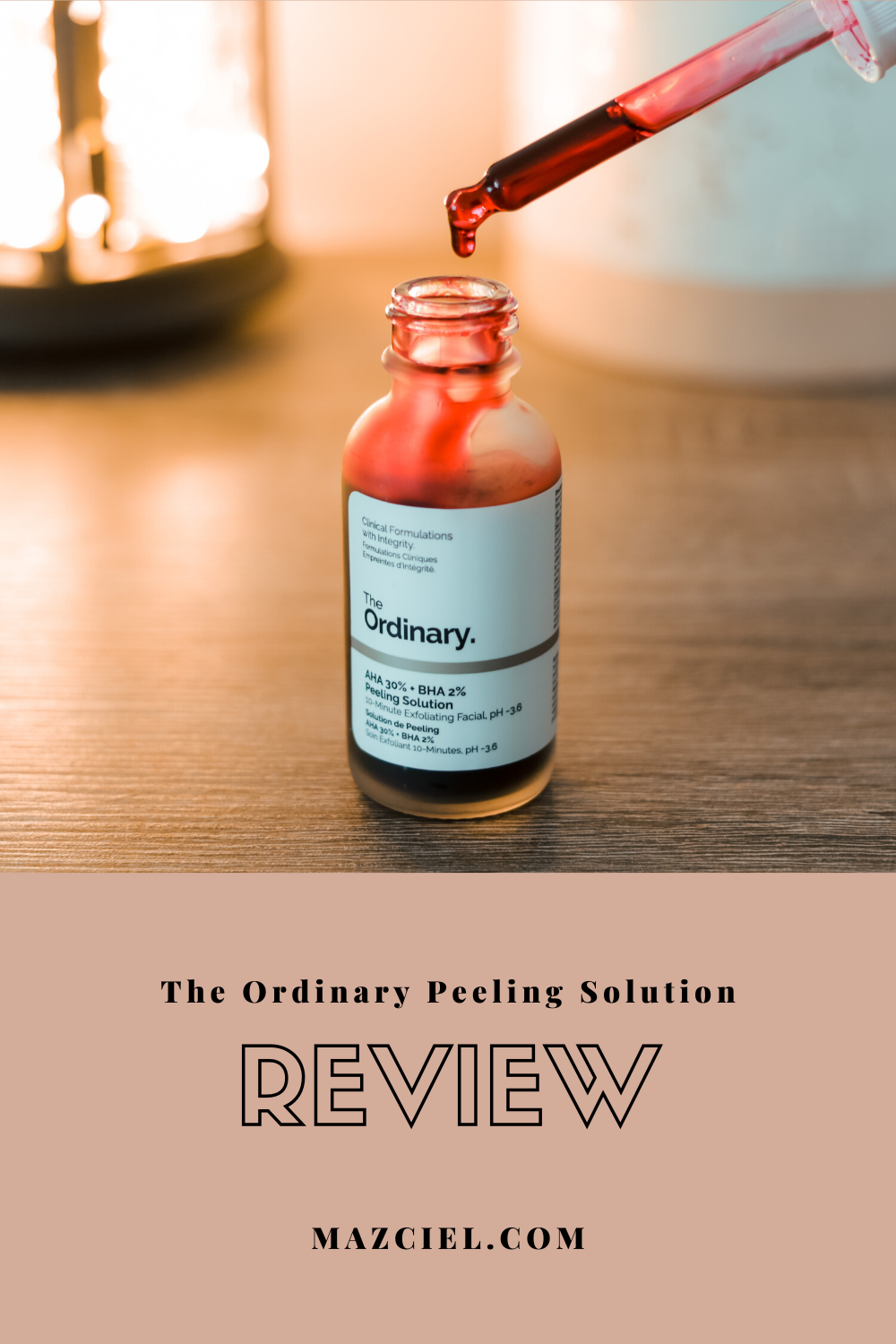 The Ordinary Peeling Solution Review in 2020 The