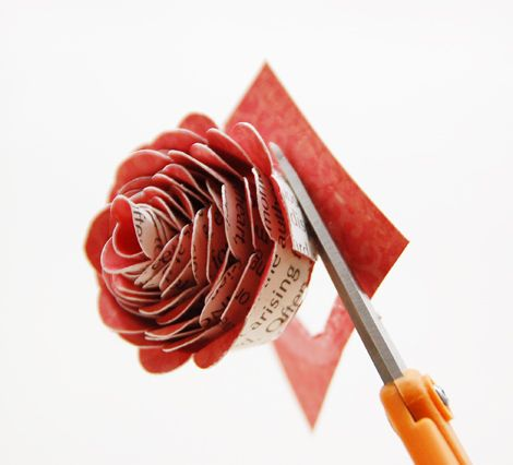 Craft with Crate w/ Roree Rumph at Crate Paper Blog - gorgeous paper flowers