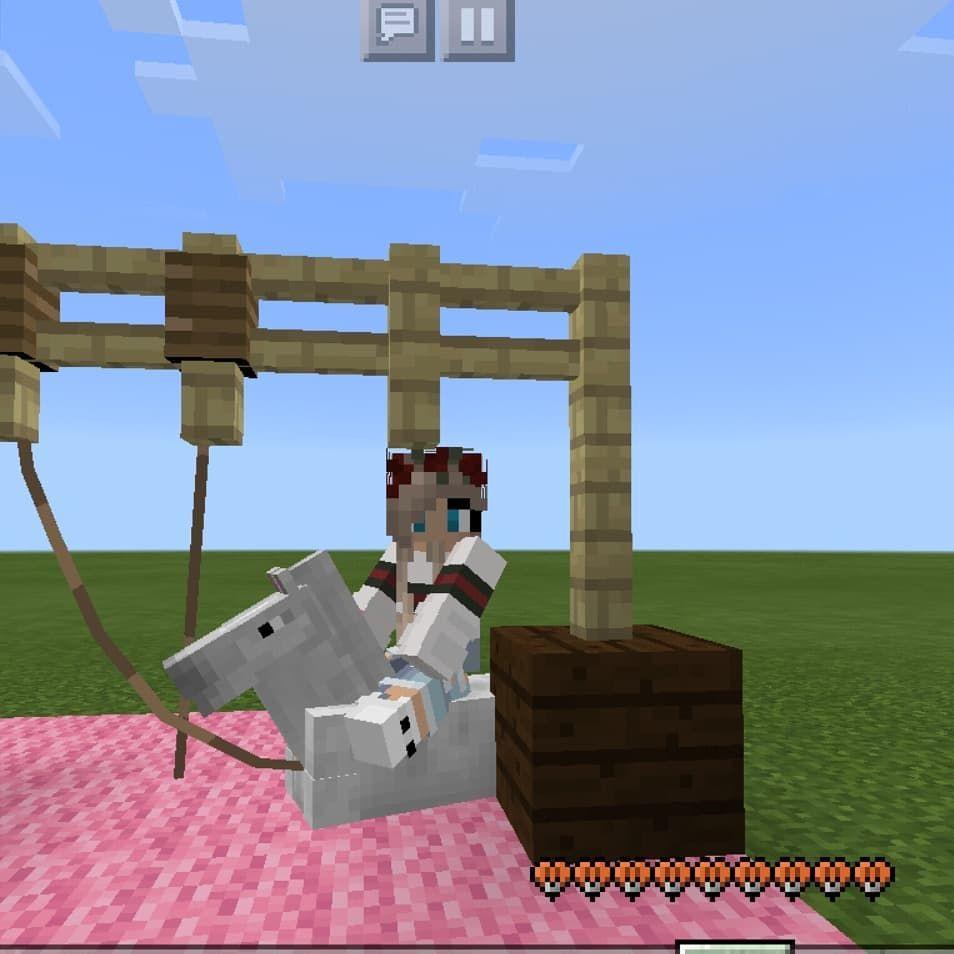 Schukeln Yay Love Pferd Schaukel Me Day My I Was Macht Ihr - Minecraft spiele mit pferden