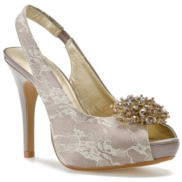 Bridal Shoes Dsw: Lulu Townsend Lights Out Pump ($45) Liked On Polyvore