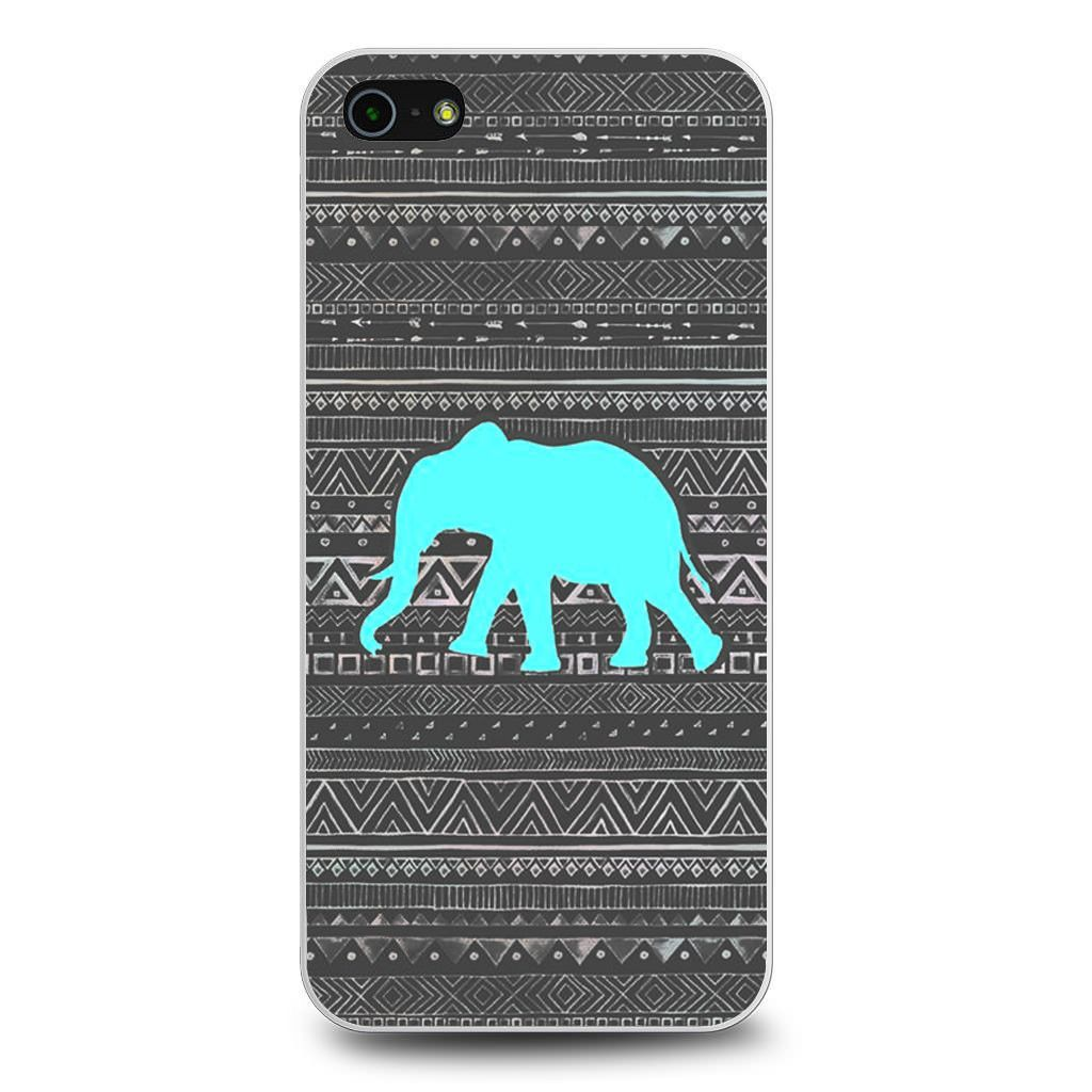 Aztec Elephant Turquoise iPhone 5[S] Case