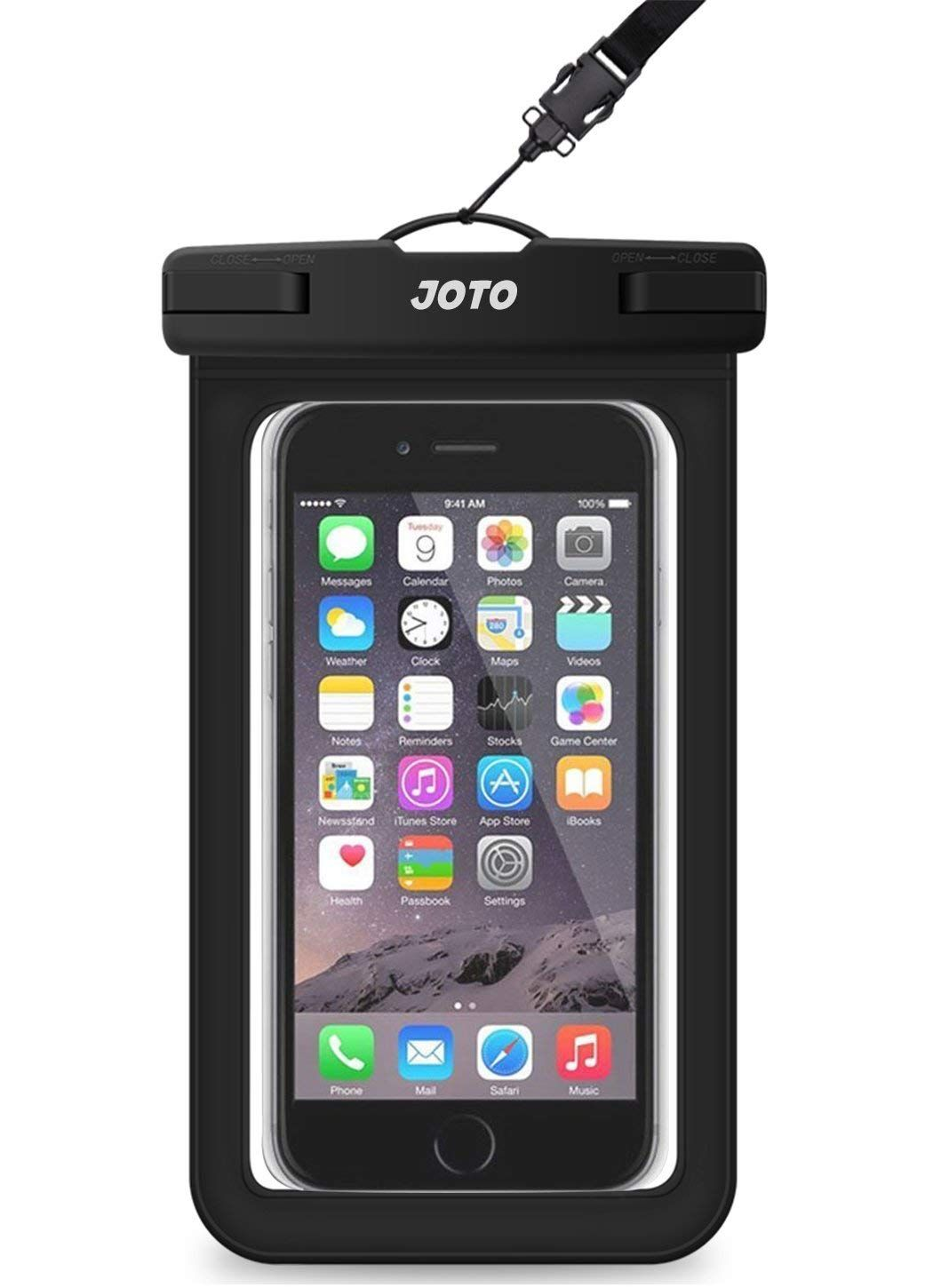 76439a3bca Universal Waterproof Case, JOTO Cellphone Dry Bag Pouch for iPhone X, 8/7