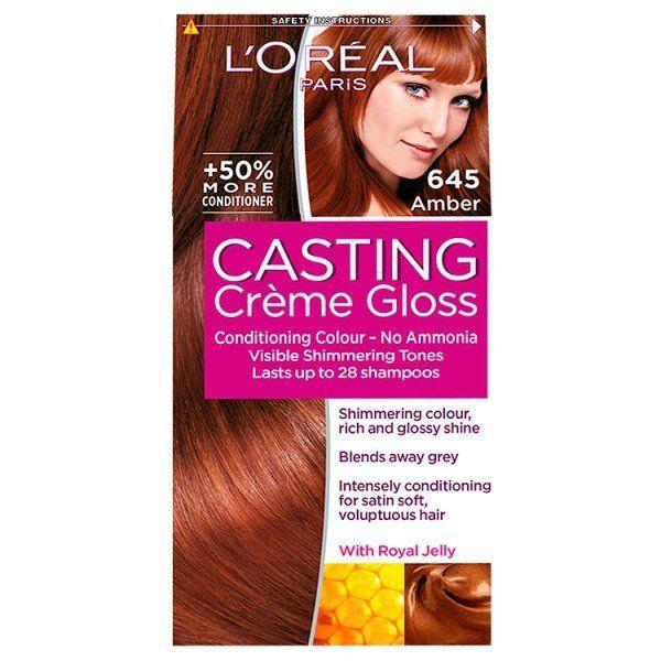 L Oreal Casting Creme Gloss Amber 645 Tintes De Cabello Rojo