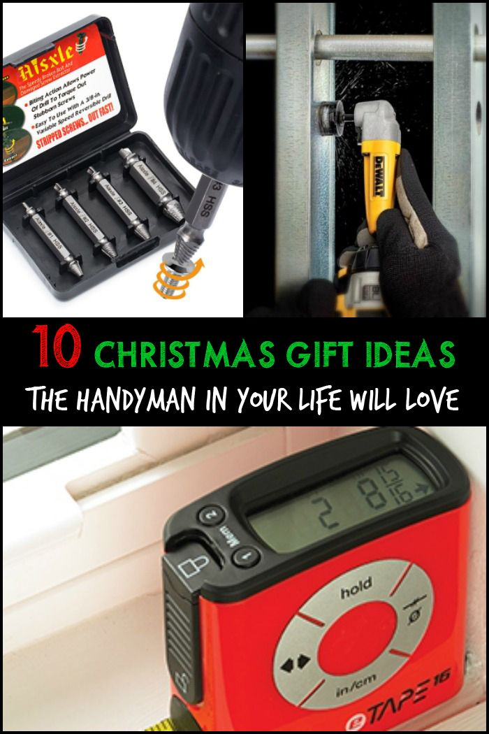Handyman christmas gift ideas