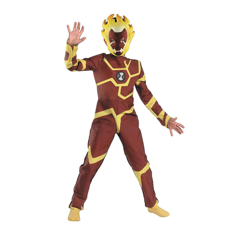 Heatblast Ben 10 Boys Costume