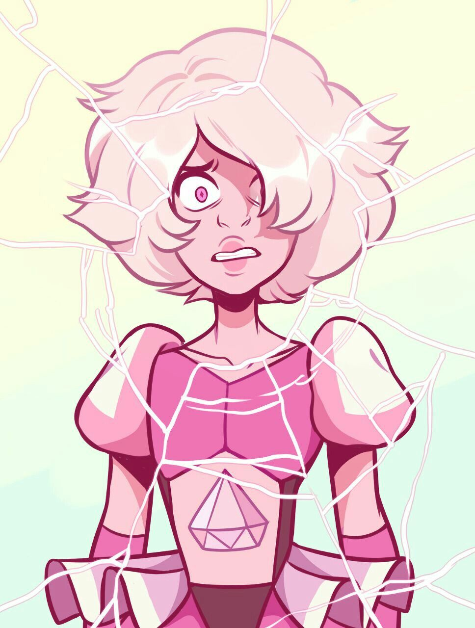 Pink Diamond Steven Universe She Actually Looks Like This