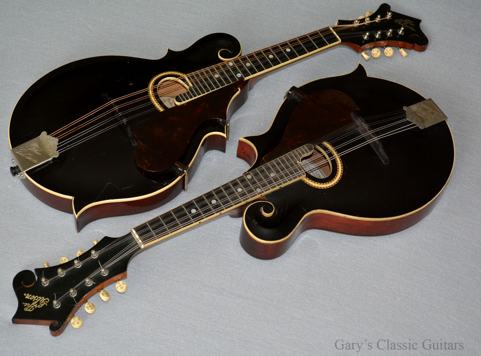 Two amazing sounding & finely crafted early Gibson F-2 mandolins...