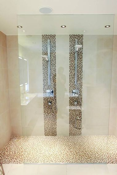indeling badkamer 4x4 dubbele douche - Google zoeken   Badkamer ...