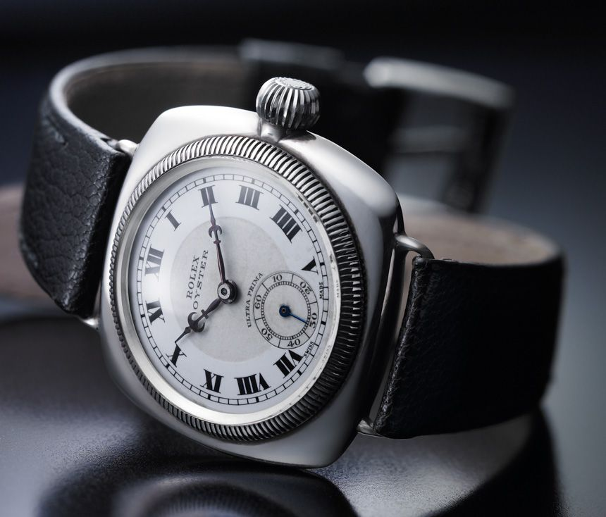 The First Rolex Oyster Watch From 1926