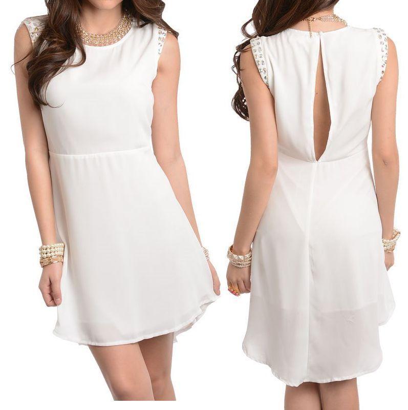 Cap Sleeve Chiffon Fashion Dress A-Line Dress Split Open Back Fashion Dress Sz 6 #Fashion #ALineSheath #Cocktail