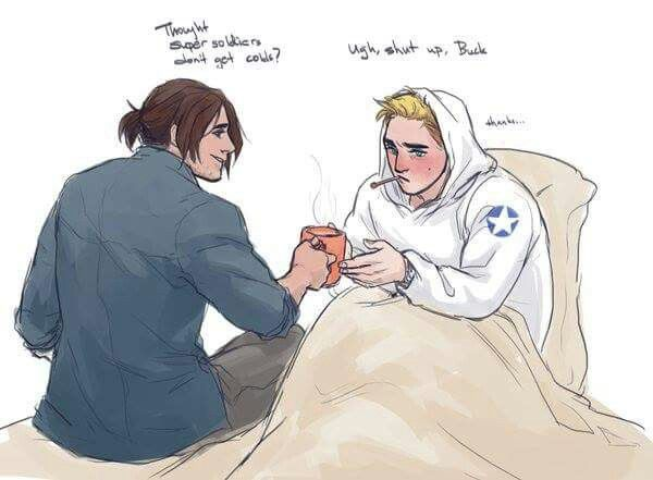 caught a cold   | best | Stucky, Marvel, Marvel avengers