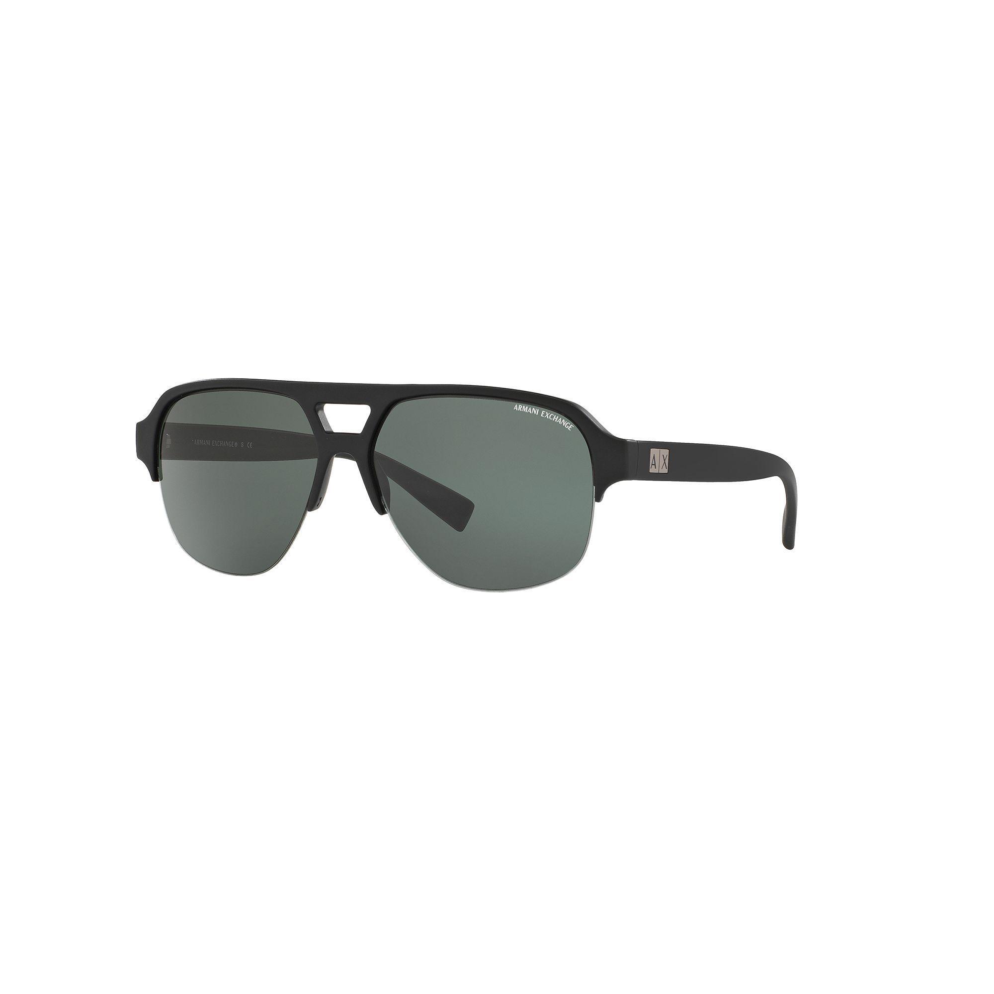 e854a7e3 Armani Exchange Urban Attitude AX4056S 59mm Aviator Sunglasses ...