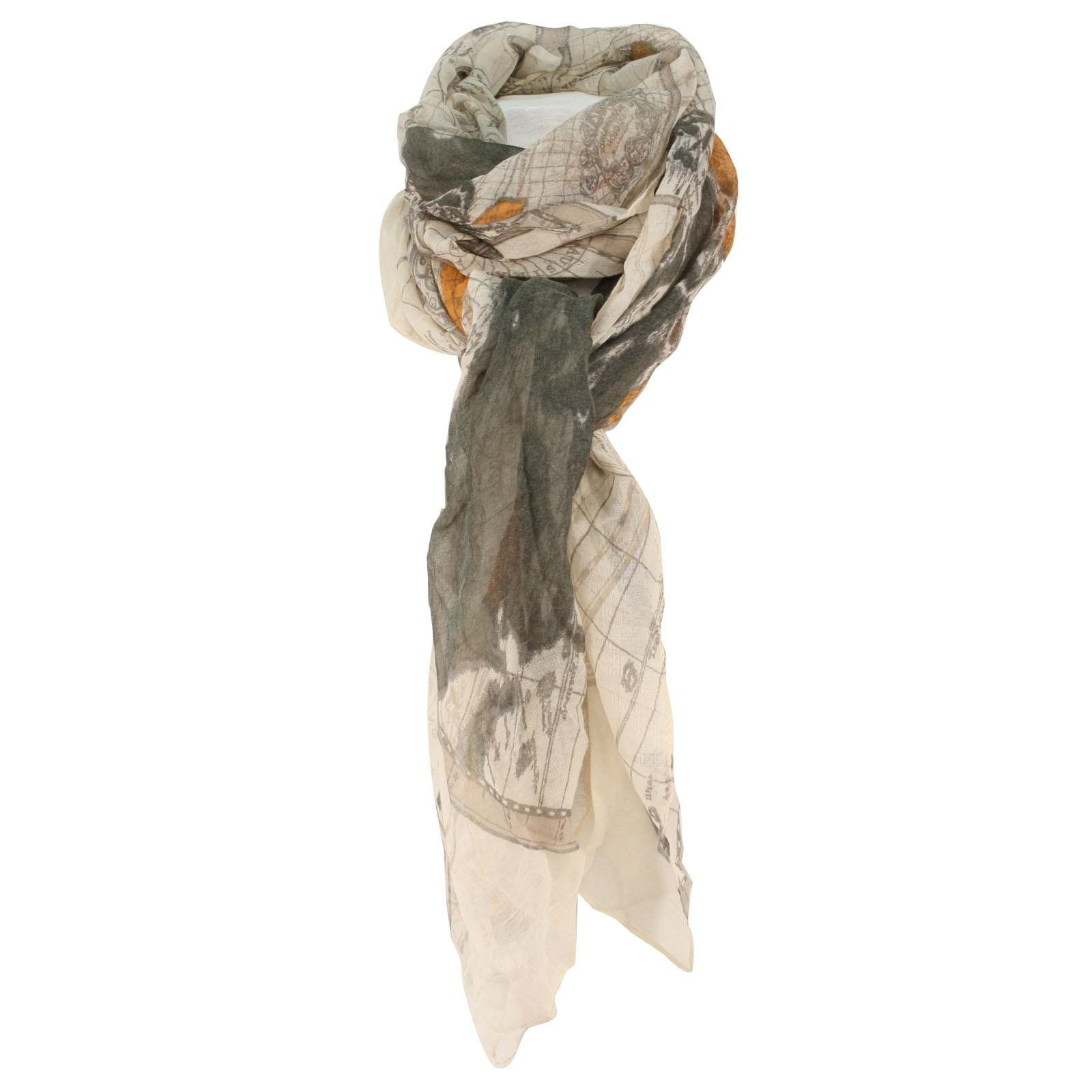 Summer soft light world atlas compass map scarf wrap shawl cover up summer soft light world atlas compass map scarf wrap shawl cover up loop beige at amazon gumiabroncs Image collections