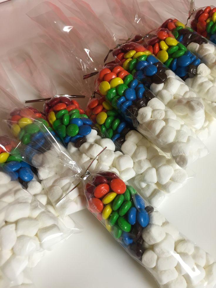 Mlp rainbow dash party favors mms marshmallows
