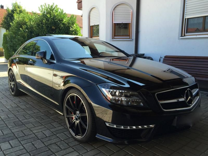 mercedes benz cls 63 amg automatik black sport cars. Black Bedroom Furniture Sets. Home Design Ideas