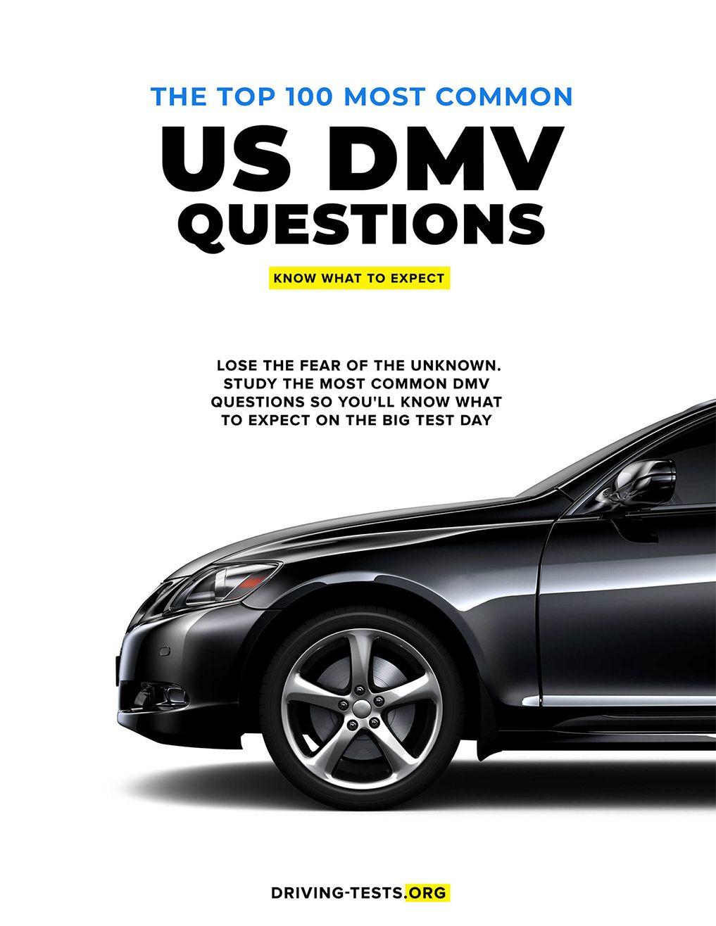 Pin on DMV written test