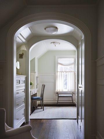 The Vestibule Built in dresser, Home, Master bedroom closet