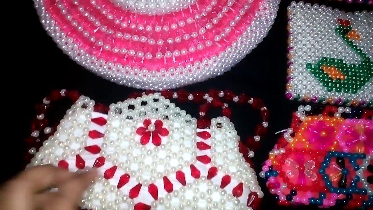How to make Beautiful Putir Bag/ beads Bag/Putir Purse / পুতির ...