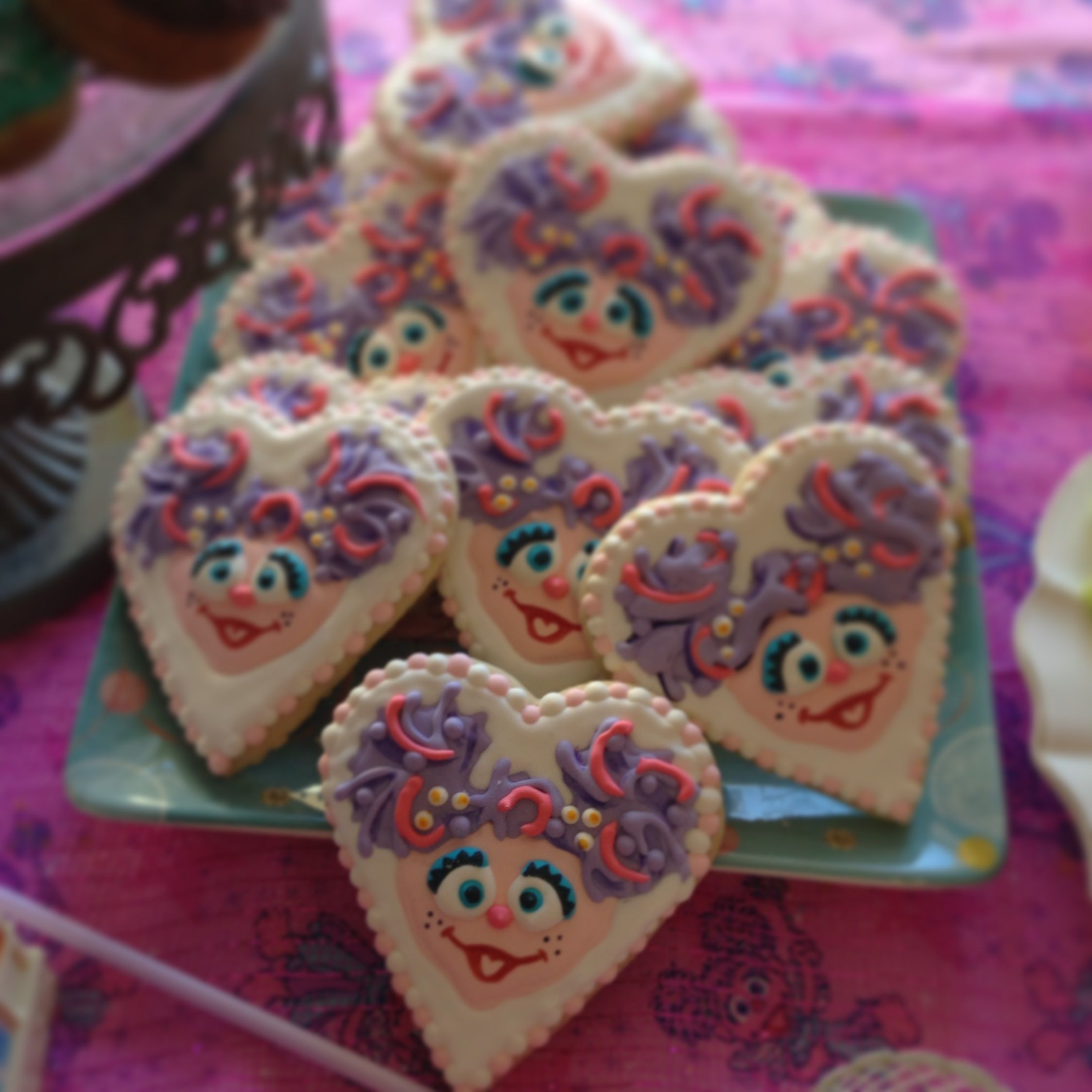 Abby Cadabby Party Decorations Abby Cadabby Cookies Parties Pinterest Cookies