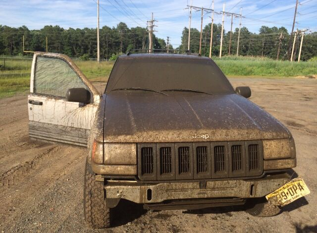 The aftermath of mudding....
