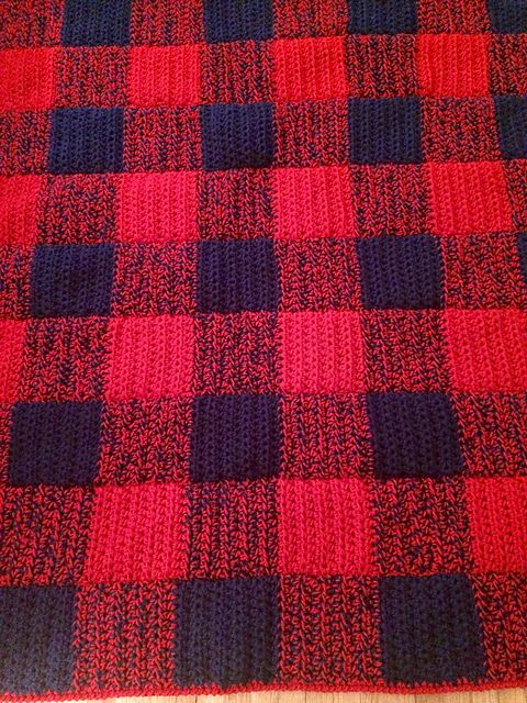 Ravelry: Project Gallery for Lumberjack Flannelghan pattern by ...