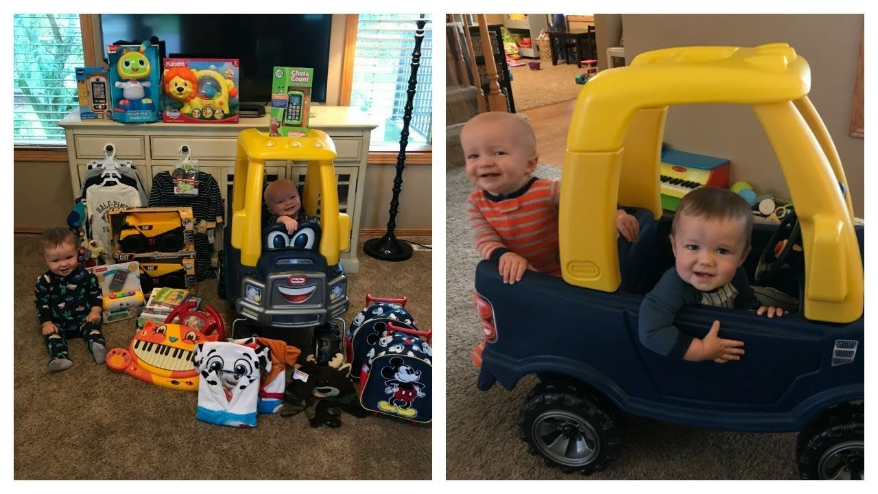 BOYS FIRST BIRTHDAY GIFT HAUL! Boy first birthday gift