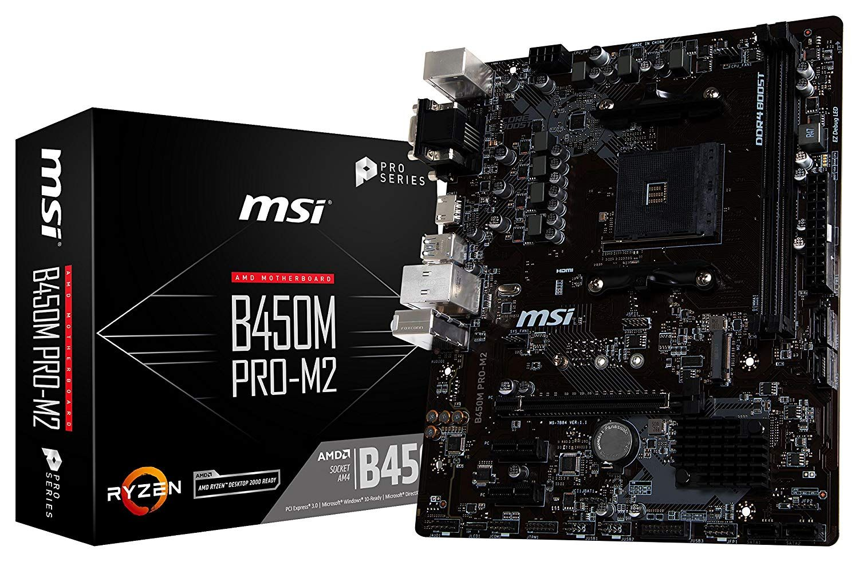 Msi Proseries Amd Ryzen 1st 2nd Gen Am4 M 2 Usb 3 Ddr4 D Sub Dvi Hdmi Micro Atx Motherboard Price Inr 7 050 00 Ddr4 Boost Fully Iso Motherboard Msi Amd
