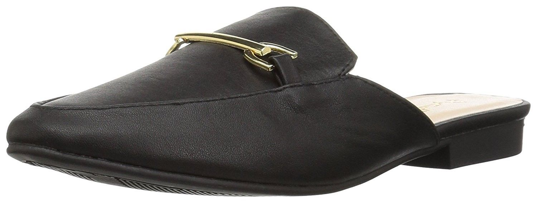 12174e9dc73 Women s Regent-02 Loafer Flat - Black - CK17Z9X3GW5
