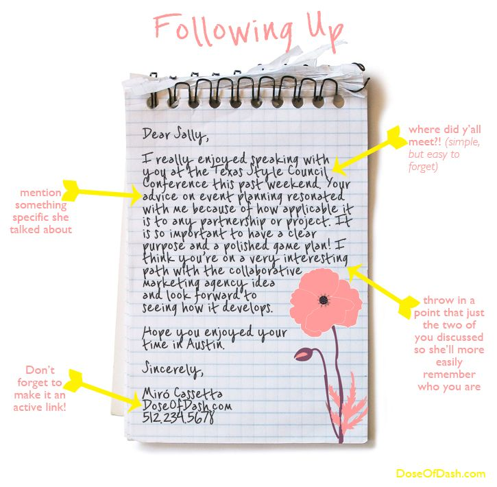 How to Write a Follow Up Email via DoseOfDash Inspiration - follow up resume email sample