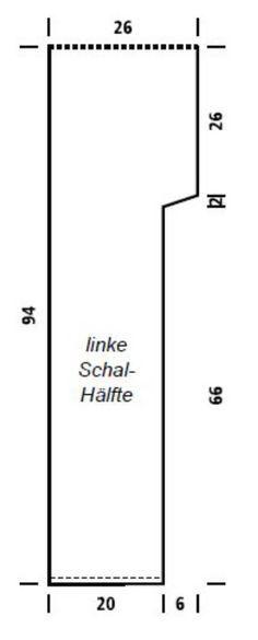 Farbenfroher Kapuzenschal / Scoodie   Muster   Stricken, Häkeln und ...
