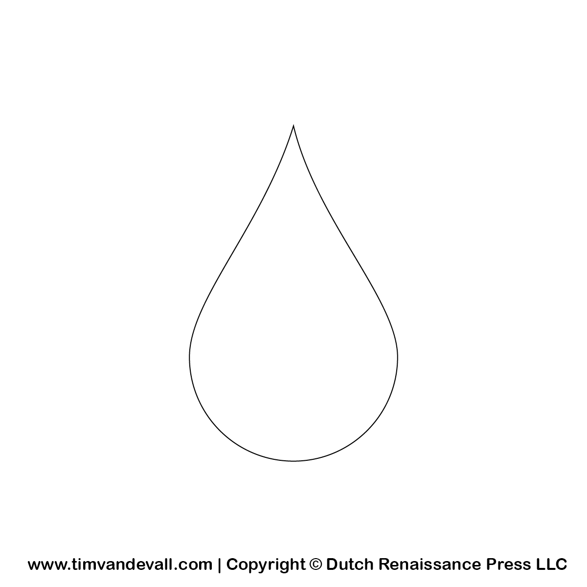 Water Drop Outline Png 1 200 1 200 Pixels Silhouette Stencil Water Drops Coloring Pages