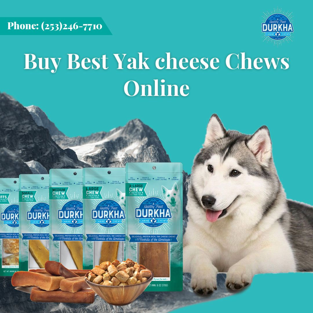 Now You Can Buy Best Yak Cheese Chews Online In U S On Durkha Pet