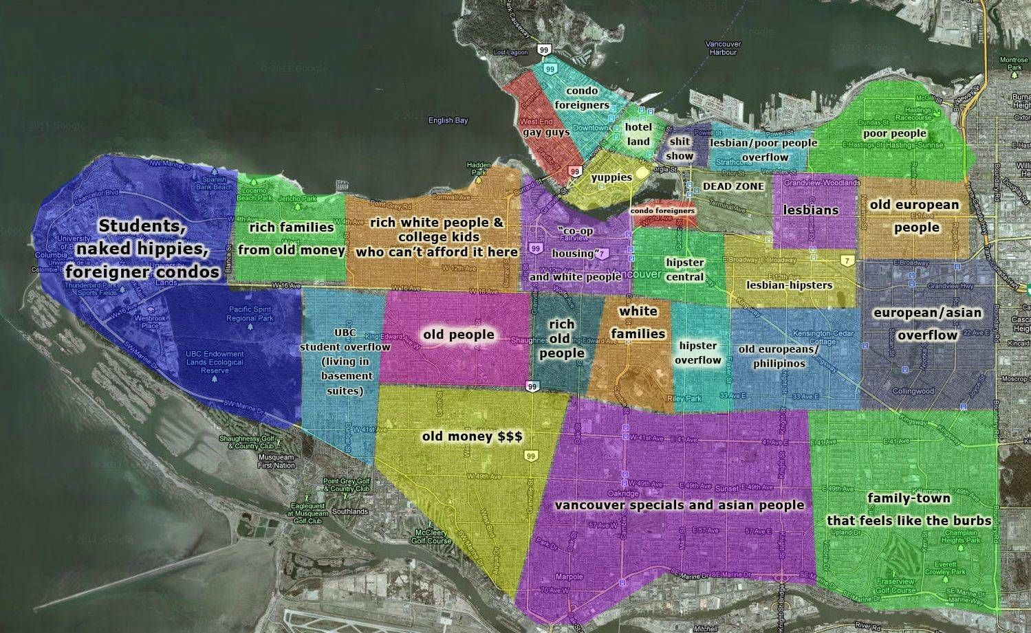 Explore Vancouver Map Vancouver Neighborhoods and more