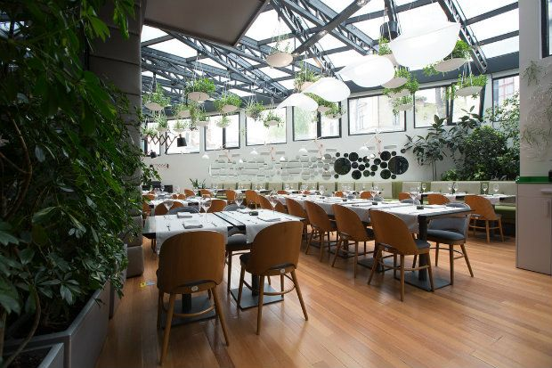 inspiring projects berthelots modern restaurant design in bucharest designed by love colours studio see more at