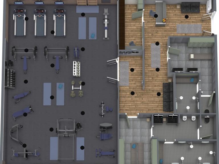 Workout Fitness Bodytransformation Gym Interior Gym Design Interior Gym Design